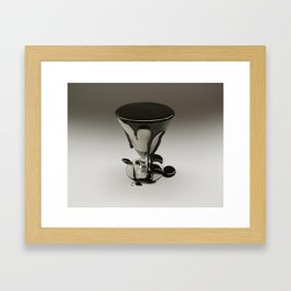 too much of a good thing Framed Art Print