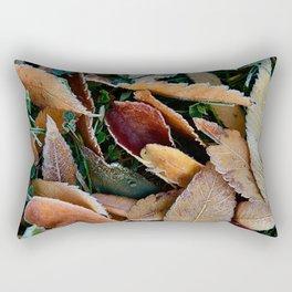 frosty mornings Rectangular Pillow