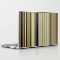 stripe Laptop & iPad Skins featuring Stripe by Fine2art
