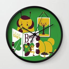 Beauty Mag Wall Clock