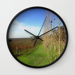 Grapevines  Wall Clock