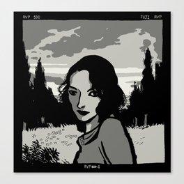Holga Portrait Canvas Print
