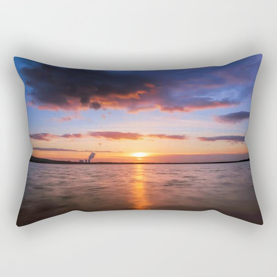 Beautiful Sundown II - #Society6 Rectangular Pillow