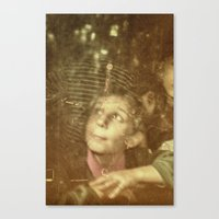 child Canvas Prints featuring Child by Adrian Rosu
