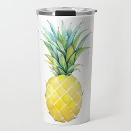 A Cool Pineapple Travel Mug