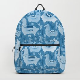 Alpacas and cacti Backpack