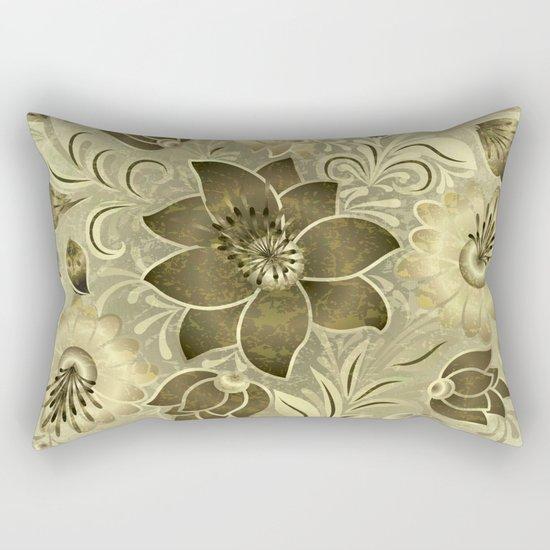 Shabby flowers #11 Rectangular Pillow