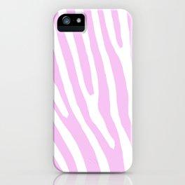 Pink Zebra iPhone Case