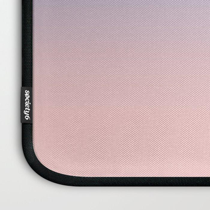Pantone Rose Quartz and Serenity Ombre Laptop Sleeve