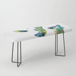 Ocean Dream- Betta Fish Bench