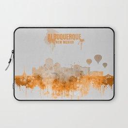 Albuquerque Warm Color Skyline Laptop Sleeve