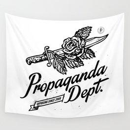 Propaganda Dept. Opposition Wall Tapestry