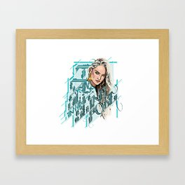 I want to swim in the Swanepoel Framed Art Print