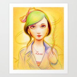 Sweet Love Art Print