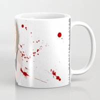 buffy the vampire slayer Mugs featuring Buffy, the vampire slayer by Rose's Creation