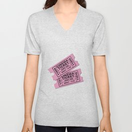 Cinema Tickets Unisex V-Neck