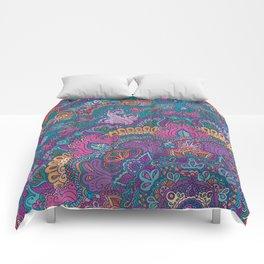 Beautiful Morning (bright) Comforters