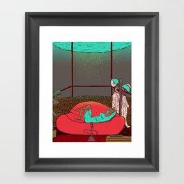 Big calm Framed Art Print