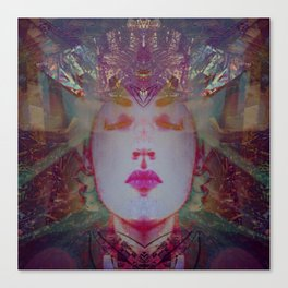 Holographic Queen Canvas Print