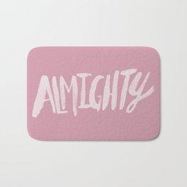 Almighty x Rose Bath Mat