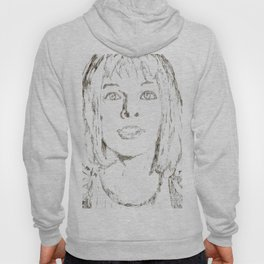 Leeloo Fifth Element sketch- Milla Jovovich Hoody