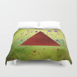 Triangle Composition Duvet Cover