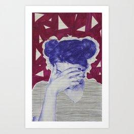 Cringe Inwardly Art Print