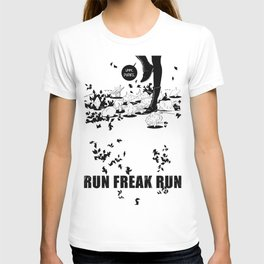 The brave mushroom men T-shirt