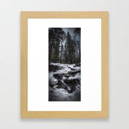 Skogens blod Framed Art Print