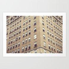 urbanism. Art Print