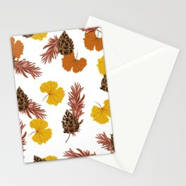Ginkos & pines Stationery Cards