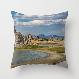 Mono Lake, California - III Throw Pillow