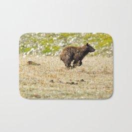 Bear on the Run Bath Mat