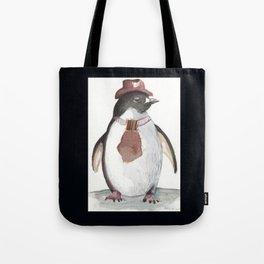 Sarcatic penguin Tote Bag