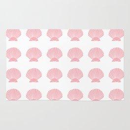 Coral Seashell Rug