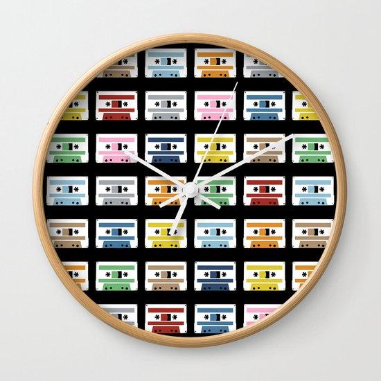 70 Rainbow Tapes Wall Clock