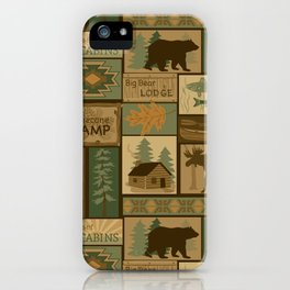 Big Bear Lodge iPhone Case