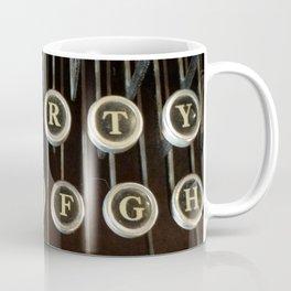 'Qwerty' Typewriter Keys Photo Coffee Mug