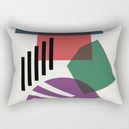 Abstract No.3 Rectangular Pillow