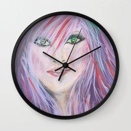 Punk Chic Wall Clock