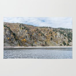 French mountain lake Rug