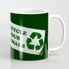 Recycle your animals - Fight club Mug