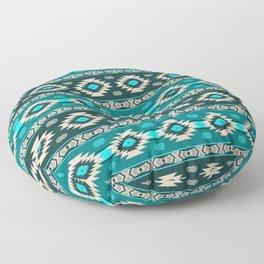 Southwest aztec stripes geometric pattern Floor Pillow