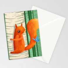 When A Butterly Unexpectedly Drops By For A Visit Stationery Cards