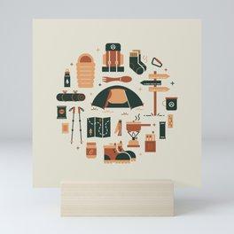 Thru Hiker Mini Art Print