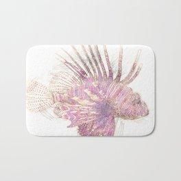 Lets draw a Lionfish Bath Mat