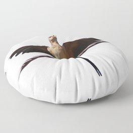 Swallow Song Vector Floor Pillow