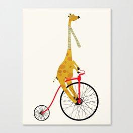 the high wheeler Canvas Print