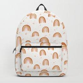 Earthy Terrazzo Rainbows Backpack