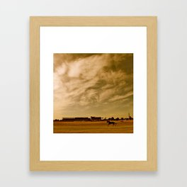 Avondale Race Course Framed Art Print